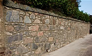 Retaining Wall in Oban